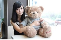 High quality 70cm Plush toys teddy bear birthday gift  big embrace bear doll Christmas gift lovers gifts free shipping