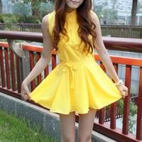 Spring women's slim elegant sleeveless tank dress chiffon one-piece dress skirt 2013 basic