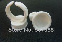 Free Shipping 100pcs Permanent Makeup Easy Ring Ink Holders/Caps