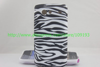 Cool Zebra silicone TPU Gel back case For Samsung Galaxy S Advance i9070,  1pc/lot by china post airmail