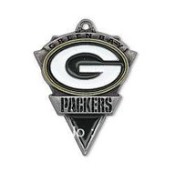 free shipping 15pcs a lot enamel antique silver plated single-sided Green Bay Packers charms