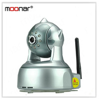 Motion Dection Dual Way Audio IR Night Vision Internet Wifi Wireless Network IP Camera Built-in Yuntai DA0098