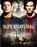 "02 Supernatural Sam Dean Winchester Castiel hot TV show 14""x17""  wall Poster with Tracking Number"
