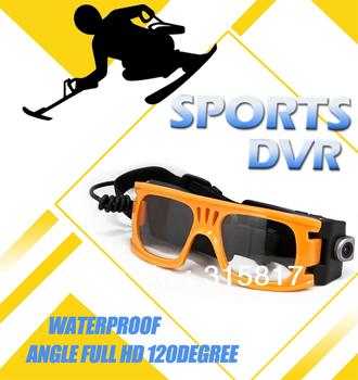0utdoor sport camera Google Glass Action Camcorder Ambarella DVR bike bicycle Recorder Glass AT80 1920x1080p