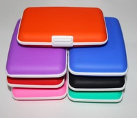 drop ship  Silicone credit card wallet bank card holder silicone credit card wallet holder BG030