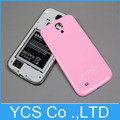 For Samsung galaxy SIV S4 I9500  Back Cover,  Battery Cover Case For Galaxy s4 I9500, Candy color ,Free Screen protector