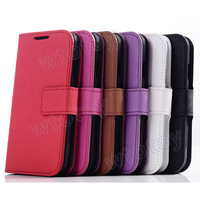 Stand Wallet PU Leather Case Cover With ID Card Holder For Samsung Galaxy S4 i9500  16376