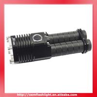 Cree XM-L T6 SMALL SUN ZY-T07 5-Mode Flashlight (2 x 18650)