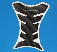 Free Shipping 10pcs Motorcycle Carbon Fiber Tank Pad TankPad Protector Black
