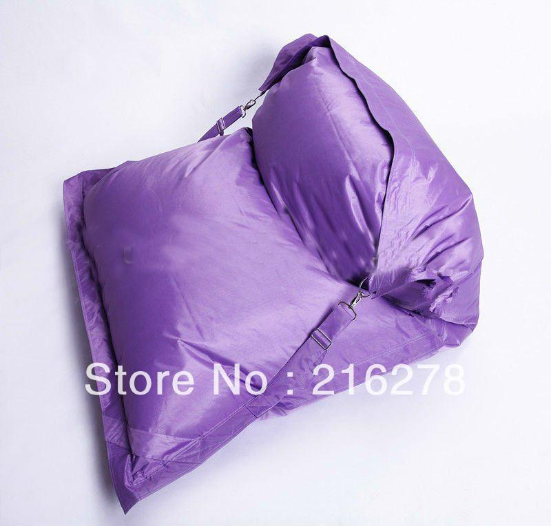 DHL free shipping , The original Buggle Up Outdoor Purple bean bags, relaxing beanbag chair(China (Mainland))