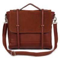 2013 fashion vintage woman's bag 100% cow genuine leather woman handbag messenger bag college style single shoulder bag