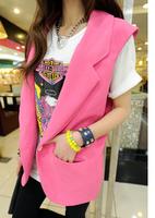 Double 2013 summer female women's vest suit vest outerwear w075