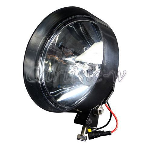 "12V 7"" 55W 6000K H3 HID Xenon Work Light Round Type Off Road Bulbs Spot For BMW X3 xDrive28i 11-12 Modification(China (Mainland))"