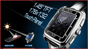 Hotsell W688 Triband Watch Cell Phone 900/ 800/1900MHz Support MP3/MP4/Bluetooth Multi-language Watch Phone