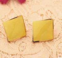Free shipping B1366 soft mat   drip stud earrings