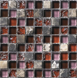 glass mix stone mosaic tile(China (Mainland))