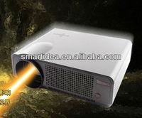 1280x800 pixels 3000lumens lcd  led TV projector,1080P 3D digital projector