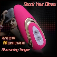 OEM Sample Charming 7-Speed Waterproof Silicone Tongue Vibration Massage Adult Products Sex Vibrator Toys For Woman