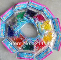 Free Shipping New Magic Style Crystal Mud Soil Water Beads Flower Planting Plant Flower 50bags 3g/bag