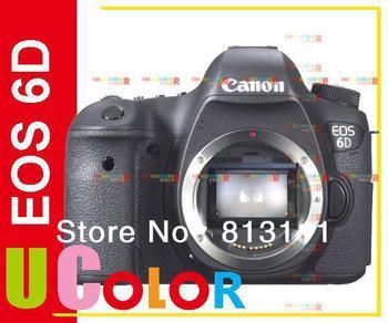 Canon EOS 6D 20.2MP Full Frame DSLR Camera Body