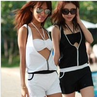 2013 fashion bikini + jumpsuit women's sexy swimsuit bathing suit woman's beachwear free shipping