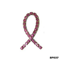 Free Shipping Breast Cancer Awareness Brooch Pin BP037 for Pageant Prom Gift(China (Mainland))
