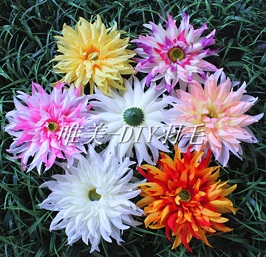 Diy handmade flower wild little daisy artificial flower silk flower fabric flower artificial flower(China (Mainland))