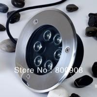 Wholesale Epistar 6W LED Underground Lamps Waterproof Light  Outdoor Garden lighting