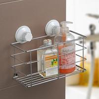 Free shipping.Shuangqing dual-purpose basket frame bathroom shelf kitchen shelf.
