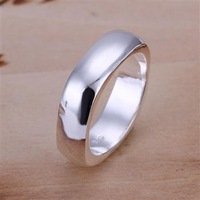 Fast/Free shipping silver 925 jewelry fashion rings trendy Square&round Silver ring fashion jewelry high quality