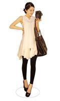 2013 Summer new style  chiffon sleeveless shirts / pregnant dresses