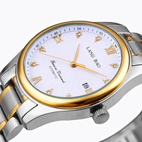 2013 Waterproof Mens Watch Calendar Fully-automatic Mechanical Watch 18k Gold Fashion Dress Watch Male Military 200m Waterproof
