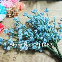 Free shipping 10 bundles/lot  Small flowers christmas decor wedding candy box decoration flowers