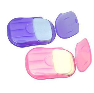 Hot sale Outdoor travel goods soap tablet paper soap paper mouse soap flower 20  freeshipping