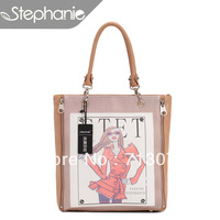 Free shipping 2013 wire fashion bag fashion casual all-match anime figure one shoulder women's handbag