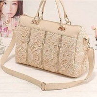 Black lace bags 2014 vintage bag trend hand messenger bag female bags