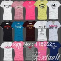 2013 Fashion Cotton T-shirt For Women Tops Original Manufacturer Supply Short sleeve T-shirt  12pcs