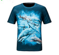 3D print T shirt Animal Digital Printing mountain shirts quickdry UV protection M-XXL