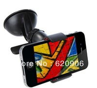 Free Shipping HOT Universal Car Windshield Mount Holder Bracket for for iPhone 4 4S HTC Smartphone /PSP/PDA