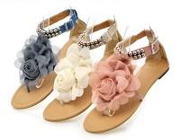 free shipping Sandal Shoes Platform Sandal Shoes Slippers Women's Flower Sandal Shoes Slippers 3 Colors size:31-43