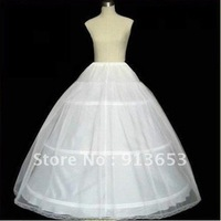 NEW Petticoat Crinoline 3-Hoop-1Layer BRIDAL dress PETTICOAT/CRINOLINE UNDERSKIRT Bridal Accessorieszarabridal