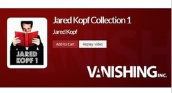 magic teaching video,magic tricks,2013 Vanishing Collection by Jared Kopf(China (Mainland))