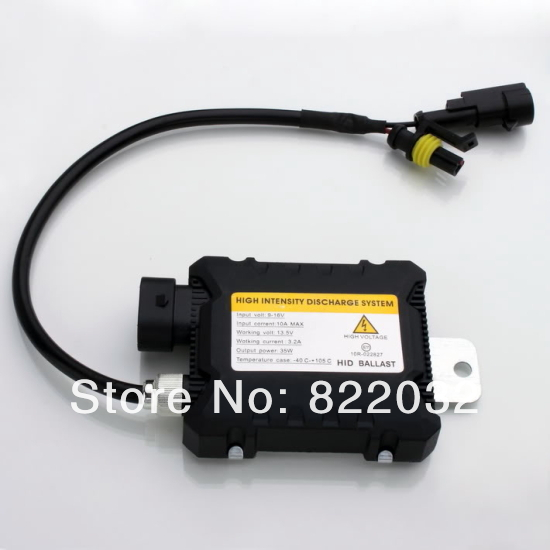 Slim HID 35W Xenon Digital Conversion Ballast Kit for H1 H3 H3C H4-1 H4-2 H7 H8 ,free shipping(China (Mainland))