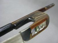 Quality Good Pernambuco octagonal Germany style 3/4 bass bow