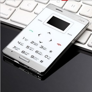 M3 Ultra-thin Pocket-size Mini Mobile Phone Card  Mobile Phone