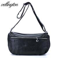 Hot sale 2013 women's genuine leather handbag fashion vintage leather bag casual messenger bag  free shipping