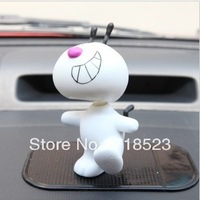 Free Shipping Ant dog car shaking his head doll cute car ornaments car accessories