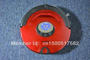 Newest Multifunctional smart vacuum cleaner ,Lcd display,automatic charging ,Sonic wall,autonomous navigation,anti-drop sensor