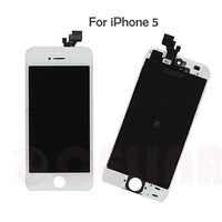 Free shipping by DHL EMS FEDEX,  High quality guarantee original  LCD screen  display  Digitizer Assembly for iphone 5 ,white