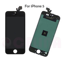 High quality guarantee original  LCD Screen Display Digitizer Assembly for iphone 5 ,black ,free shipping